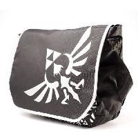 Maroquinerie Sac en bandouliere Zelda- Blason d'Hyrule argente