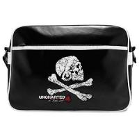 Maroquinerie Uncharted - Sac Besace - Skull - Vinyle - Abystyle