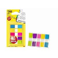 Marque-page 100 POST-IT Mini Marque-pages 5x20 dont 40 OFFERTS