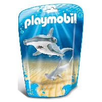 Marteau PLAYMOBIL 9065 Family Fun - Requin-marteau et son petit