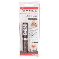 Mascara  RIMMEL Mascara a sourcils Grow - A l?huile d?argan - Noir - Generique