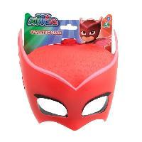 Masque - Accessoire Visage LES PYJAMASQUES Masque en Plastique Moule Bibou - Giochi Preziosi