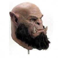 Masque - Accessoire Visage Masque Warcraft - Deluxe Orgrim - En latex - Generique