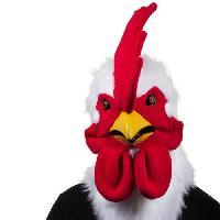 Masque - Accessoire Visage THE JESTER Masque de Coq