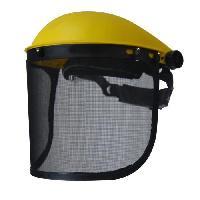 Masque - Cagoule De Soudeur - Lunette - Visiere JARDIN PRATIQUE Visiere de protection reglable - Ecran grillage relevable - Generique