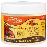 Masque Capillaire - Soin Capillaire ACTIVILONG Creme soufflee Actiforce - Pour cheveux frises et crepus - Carapate et sapote - 300 ml