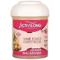 Masque Capillaire - Soin Capillaire ACTIVILONG Pommade capillaire Actigloss Nourish Hair Food - Jojoba et macadamia - 125 ml