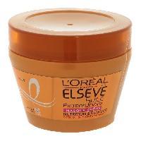 Masque Capillaire - Soin Capillaire L OREAL PARIS Elseve Huile Extraordinaire Masque Nutrition pour Cheveux Secs 300 ml