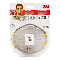 Masque De Protection De Chantier 3M 2 masques respiratoires 9914SV FFP1 - Avec soupape