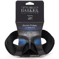 Masque Secret Prince Noir - 23cm x 10cm