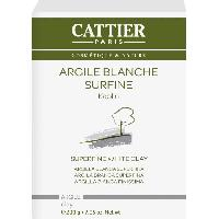 Masque Visage - Patch CATTIER  Argile Blanche Surfine  200 g