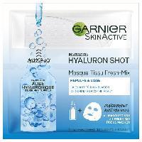 Masque Visage - Patch GARNIER Masque Tissu Hydrabomb - Hyaluron Shot - 33 g