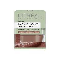Masque Visage - Patch L'ORÉAL PARIS - Masque Visage Lissant Argile Pure - 50 ml - L'oreal Paris