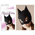 Masque de catwoman en nubuck look cuir