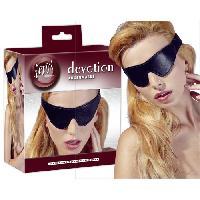 Masquer Masque compatible avec les yeux Imit. Cuir