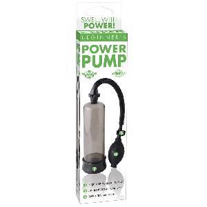 Masturbateurs Developpeur de penis Beginners Power Pump Noir