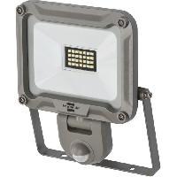 Materiel Chantier Brennenstuhl Projecteur LED JARO - avec détecteur de mouvements infrarouge - 1870 lumen (IP44)