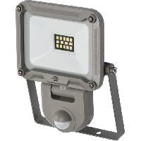 Materiel Chantier Brennenstuhl Projecteur LED JARO - avec détecteur de mouvements infrarouge - 900 lumen (IP44)