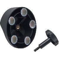 Materiel Chantier Brennenstuhl Support magnétique avec 5 aimants - pour les projecteurs DARGO (références 1171670 et 1171680)