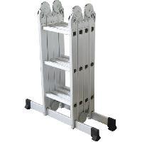 Materiel Chantier CENTAURE Echelle articulée + plate-forme acier