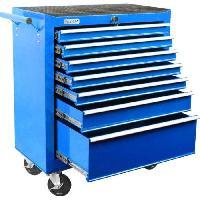 Materiel Chantier DEF'PRO Servante d'atelier 7 tiroirs vide en metal