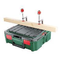 Materiel Chantier Etabli de sciage BOSCH - Boîte de rangement SystemBox vide spécial sciage