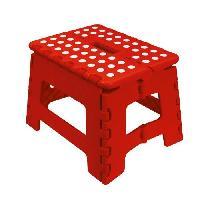 Materiel Chantier FRANDIS Marche-pied pliable 29x22x22cm rouge