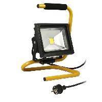Materiel Chantier Projecteur de chantier LED 20W portable + câble