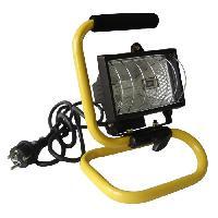 Materiel Chantier Projecteur de chantier portable - ZENITECH -  400W avec bras