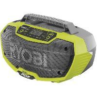 Materiel Chantier Radio d'atelier RYOBI stéréo 18V OnePlus - sans batterie ni chargeur R18RH-0