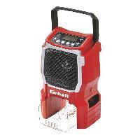 Materiel Chantier Radio d'atelier sans fil TE-CR 18 LI Solo