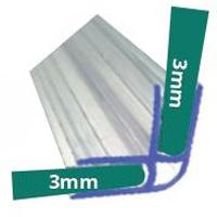 Materiel De Bureau Joint En L Pour Ecran Acrylique