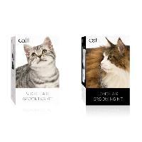 Materiel De Toilettage CAT IT Trousse de toilettage a poil court - Blanc - Pour chat