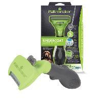 Materiel De Toilettage FURMINATOR Outil de toilettage pour chiens de petite taille a poils longs - Elimine 90% des poils morts - Sans Bisphénol A