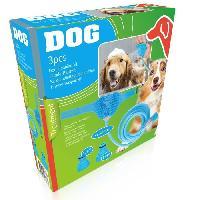 Materiel De Toilettage Kit de toilettage - Tuyau 250 cm + adaptateurs + gant - Pour chien - Aucune