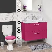 Materiel D'entretien Brosse WC imprimee - Plastique - H35 x O10 cm - Aucune