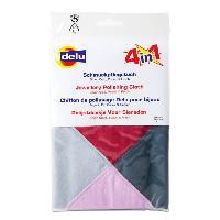 Materiel D'entretien DELU Chiffon de nettoyage impregne 4 En 1 - 35 x 35 cm