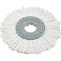 Materiel D'entretien LEIFHEIT Tete de rechange Clean Twist Disc Mop Active - Microfibres absorbantes