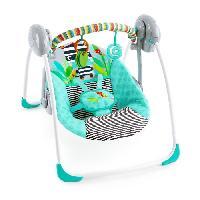 Materiel Eveil Bebe Balancelle Compacte Bebe Zig Zag Zebra