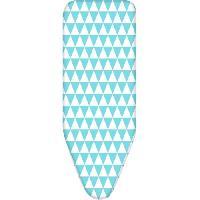 Materiel Soin Du Linge Housse de table a repasser Koitere pour plateau 120x38 cm bleu et blanc