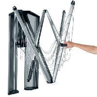 Materiel Soin Du Linge Sechoir Wallfix - 24 m - Gris metallique