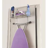 Materiel Soin Du Linge Support de porte pour accessoires menagers et balais Broomy