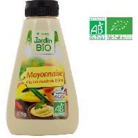 Mayonnaise JARDIN BIO Mayonnaise a la moutarde de Dijon bio - 315 g