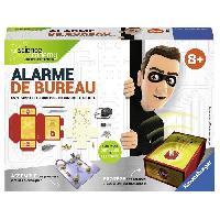 Mecanique - Electronique SCIENCE X RAVENSBURGER Mini Alarme de Bureau Jeu Educatif