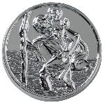 Medaille Saint Christophe Ronde