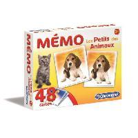 Memory CLEMENTONI Memo - Les petits des Animaux - Jeu de memorisation