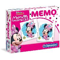 Memory CLEMENTONI Memo - Minnie - Jeu de memorisation