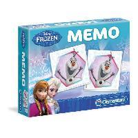 Memory CLEMENTONI Super Memo - La Reine des Neiges - Jeu de memorisation