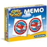 Memory CLEMENTONI Super Memo - Super Wings - Jeu de memorisation