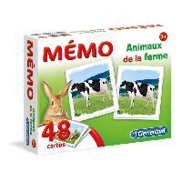 Memory Jeu Memory - Memo Animaux de la Ferme